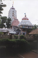 Outside view of Temple